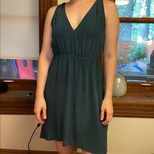 Babaton Silk Teal Dress
